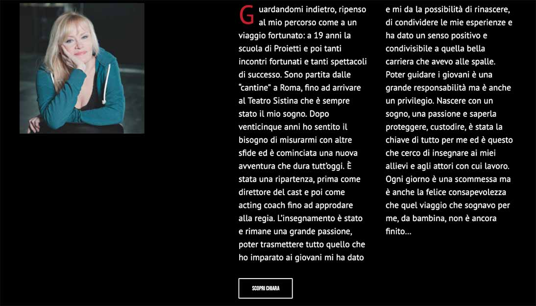 Sito Internet Chiara Noschese